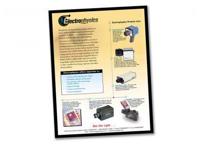Electrophysics Corporate Profile Ad