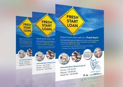 CBBCNJ Fresh Start Loan Campaign