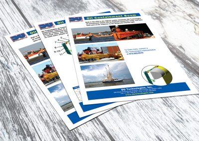 DU Technologies Oil Boom Product Sheet