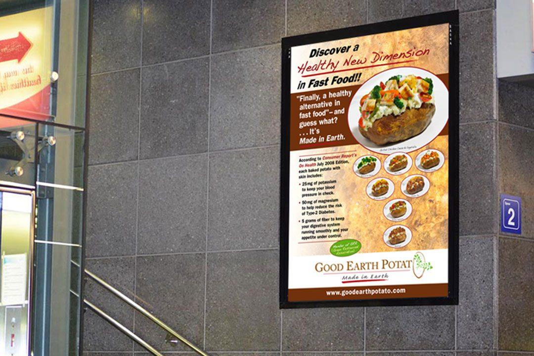Good Earth Potato Poster