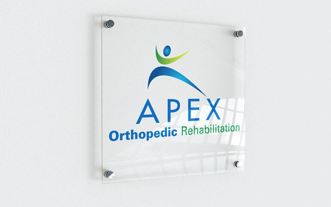 Apex Ortho Logo Sign