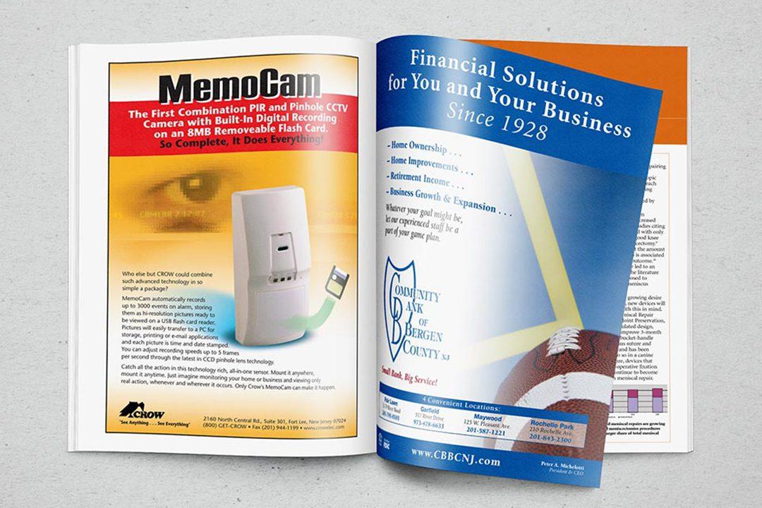 Crow MemoCam Magazine Ad