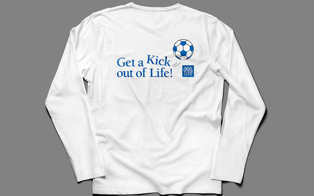 "NYL and Major League Soccer ""Get-A-Kick"" Logo"