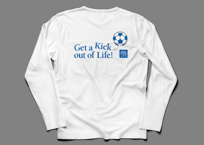"NYL and Major League Soccer ""Get-A-Kick"" Logo"