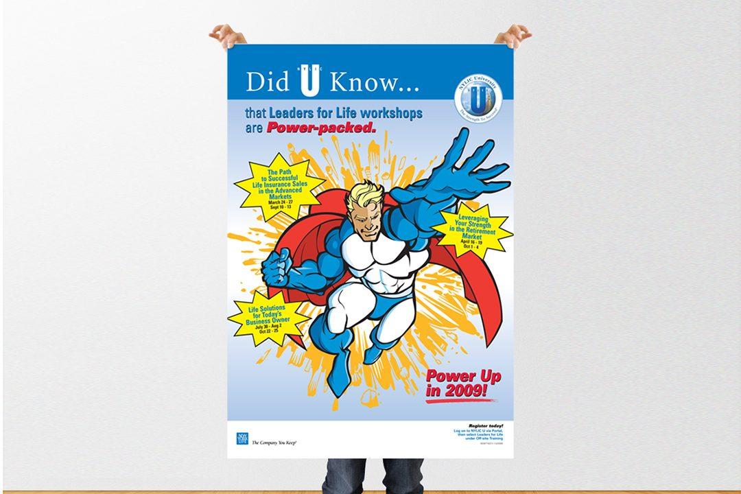 "NYL ""Super Hero"" Poster"