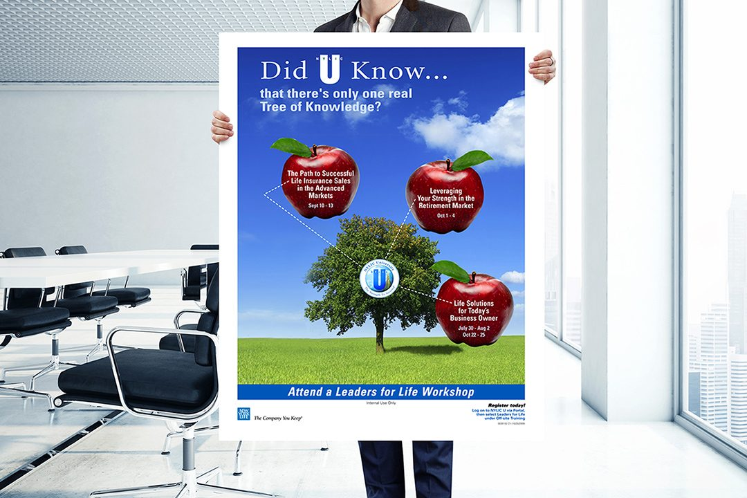 "NYL ""Tree of Knowledge"" Poster"