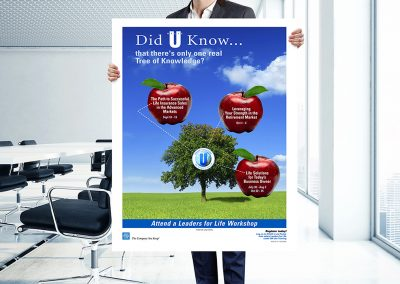 """NYL """"Tree of Knowledge"""" Poster"""