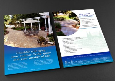 R&S Landscaping Outdoor Spaces Campaign