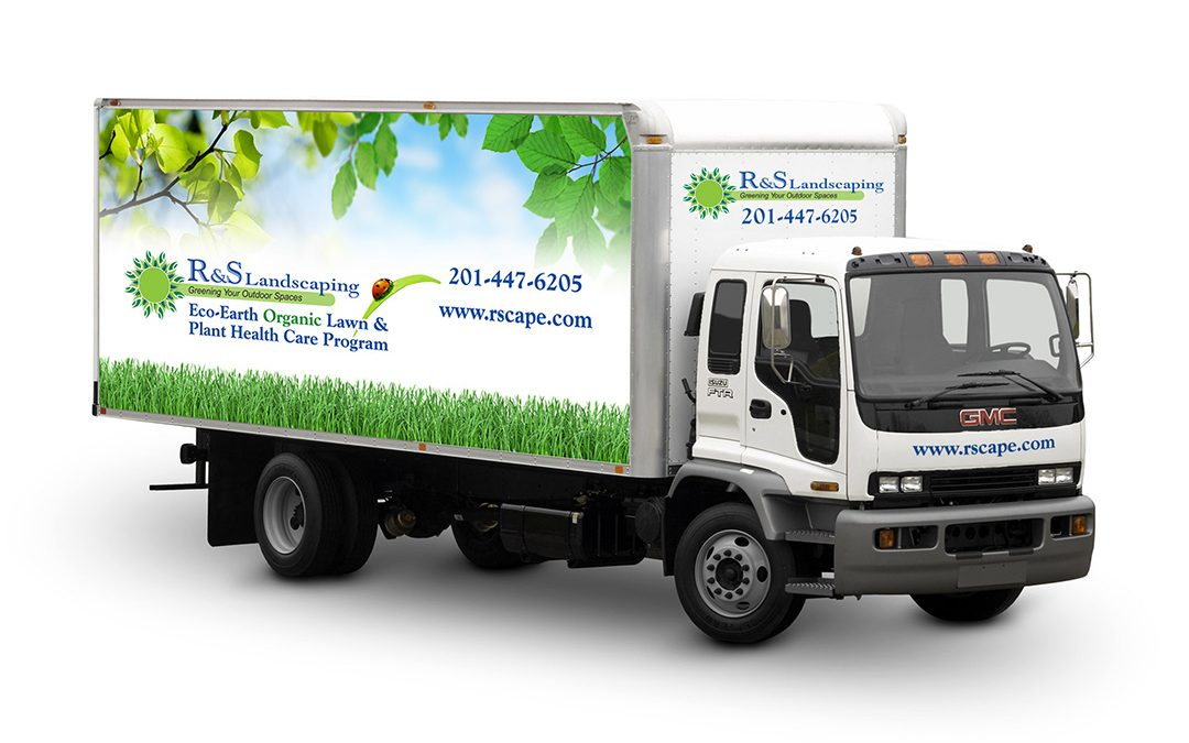 R&S Landscaping Truck Graphics