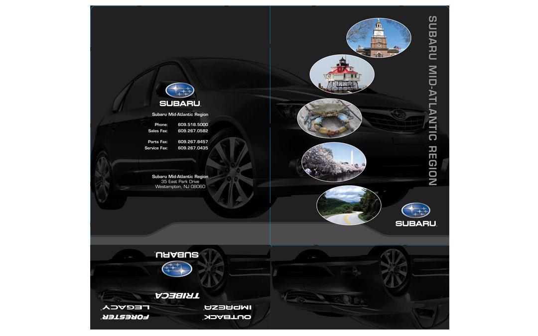 Subaru Pocket Folder